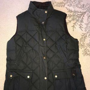 L.L. Bean Waxed Cotton Vest - Women's XL